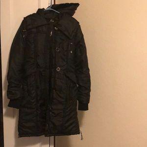 Jackets & Blazers - Black long winter coat